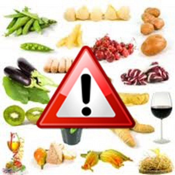 prodotti alimentari contenenti nichel