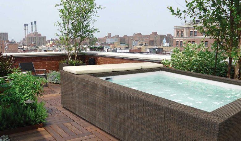 Piscine da terrazzo sceglierla anche per il proprio for Piscina per terrazzo